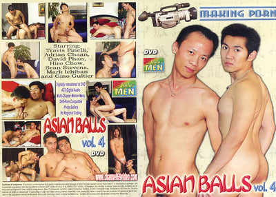 Asian Balls 4, Channel 69 - Gay Sealed DVD