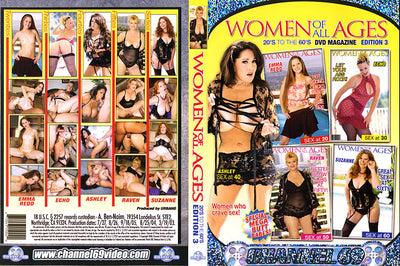 Women Of All Ages 3, Channel 69 - Specialty Sealed DVD