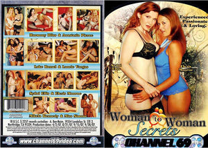 Woman To Woman Secrets 1, Channel 69 - Specialty Sealed DVD