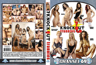 7 Knockout Trannies 1 Channel 69 - Specialty Sealed DVD