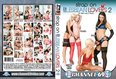 Strap on Lesbian Lovers 2, Channel 69 - Specialty Sealed DVD