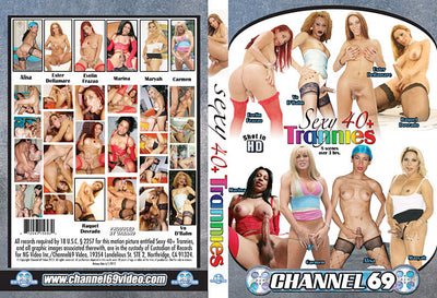 Sexy 40+ Trannies Channel 69 - Specialty Sealed DVD