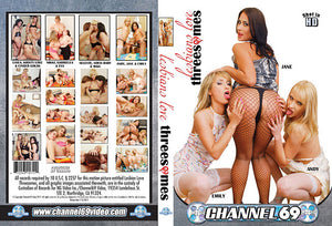 Lesbians Love Threesomes, Channel 69 - Specialty Sealed DVD