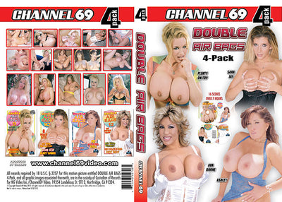 Double Air Bags 4 Pack 1 (4 Disc Set), Channel 69 - 4 Pack Sealed DVD