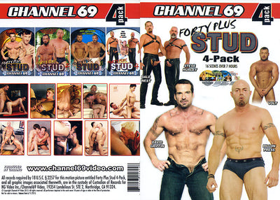 Forty Plus Stud 4 Pack (4 Disc Set) Channel 69 - 4 Pack Sealed DVD