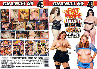 My Fat Wife Likes It Black (4 Disc Set), Channel 69 4 Pack Sealed DVD