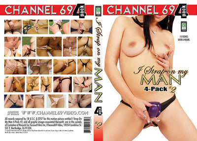 I Strap On My Man 4 Pack 2 (4 Disc Set), Channel 69 4 Pack Sealed DVD