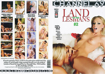 Land Of The Lesbians 2, Channel 69 - Specialty New Sealed DVD