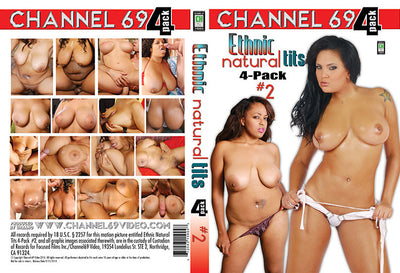 Ethnic Natural Tits 4 Pack 2 (4 Disc Set), Channel 69 - 4 Pack Sealed DVD