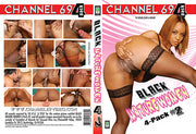 Black Mature Women 4 Pack 2 (4 Disc Set), Channel 69 - 4 Pack Sealed DVD