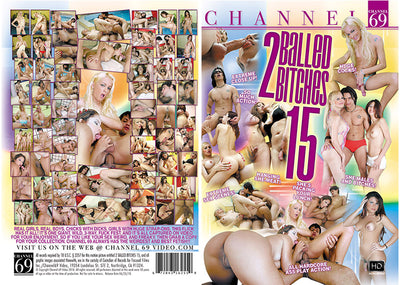 2 Balled Bitches 15 Channel 69 Sealed DVD