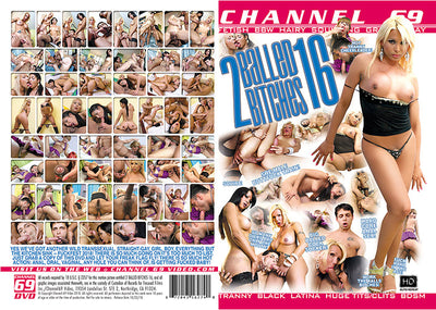 2 Balled Bitches 16 Channel 69 Sealed DVD
