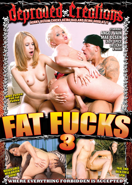 Fat Fucks #3 - Mile High DVD in Sleeve