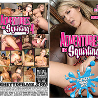 Adventures In Squirting 4, White Ghetto - New Sealed DVD