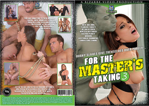 For The Masters Taking 3 Bizarre - All Sex Sealed DVD