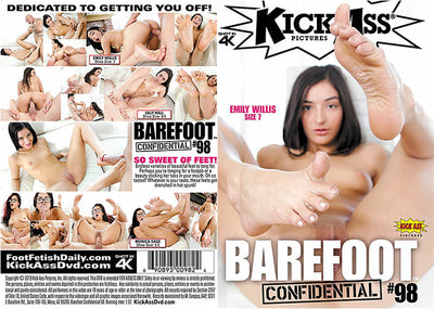 Barefoot Confidential 98 Kick Ass - New  - Sealed DVD