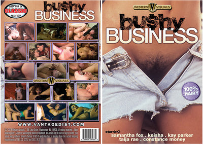 Bushy Business Western Visuals - Classic Sealed DVD