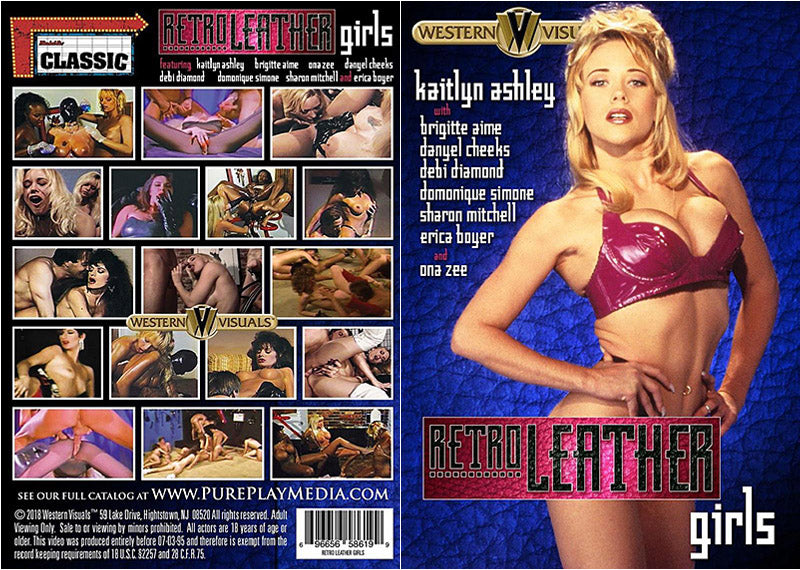 Retro Leather Girls Western Visuals - Classic Sealed DVD