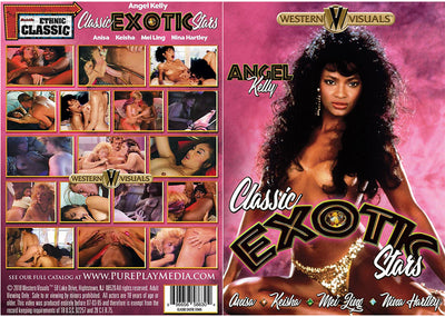 Classic Exotic Stars Western Visuals - Classic Sealed DVD