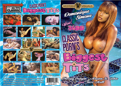 Classic Porn'S Biggest Tits Western Visuals - Classic Sealed DVD