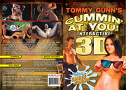 Cummin' At You Interactive 3D (2 Disc Set) Tommy Gunn Sealed DVD