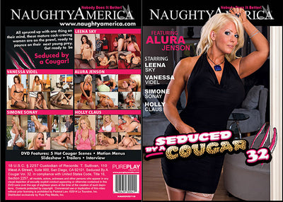Seduced By A Cougar 32, Naughty America - Reality Sealed DVD