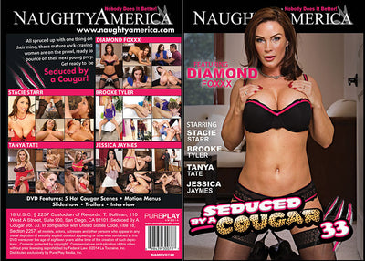 Seduced By A Cougar 33, Naughty America - Reality Sealed DVD