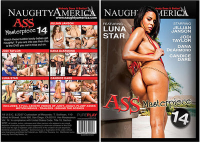 Ass Masterpiece 14 Naughty America - Sealed DVD