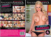 My Naughty Massage 4, Naughty America - Reality Sealed DVD