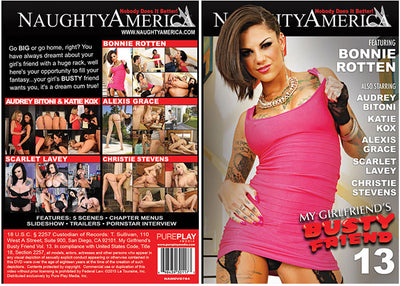 My Girlfriend's Busty Friend 13 Naughty America - (Bonnie Rotten) Sealed DVD