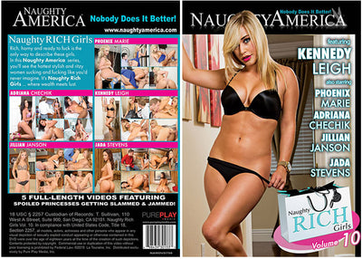 Naughty Rich Girls 10 Naughty America - Reality Sealed DVD