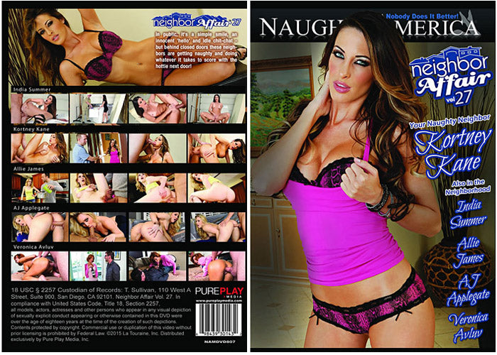 Neighbor Affair #27 (kortney kane) Naughty America 2015 DVD