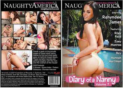 Diary Of A Nanny 7 Naughty America - Reality (riley reid) Sealed DVD