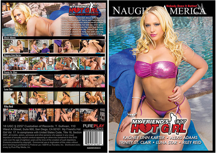 My Friend's Hot Girl 17 Naughty America - Sealed DVD