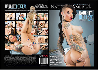 Naughty Office 41 Naughty America (christy mack) Sealed DVD