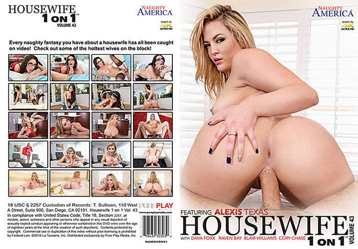 Housewife 1 on 1 #43 - Naughty America Sealed 2016 DVD