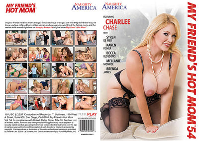 My Friend's Hot Mom 54, Naughty America - Reality Sealed DVD