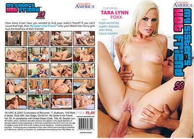 My Sister's Hot Friend 50, Naughty America - Reality Sealed DVD
