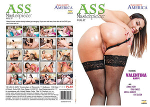 Ass Masterpiece 17 Naughty America - Sealed DVD