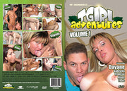 T Girl Adventures 1 Hundies Sealed DVD