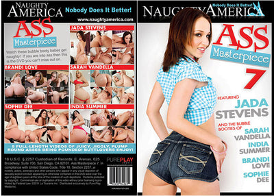 Ass Masterpiece 7 Naughty America - Sealed DVD