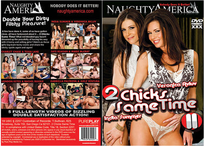 2 Chicks Same Time 11 Naughty America - Reality Sealed DVD