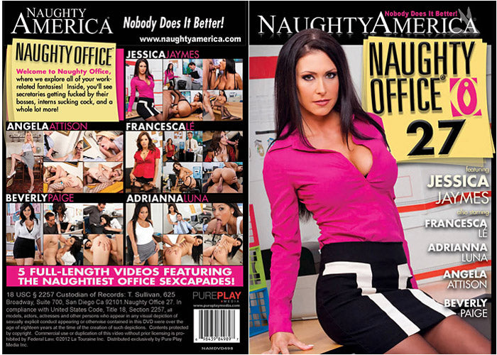 Naughty Office #27 - Naughty America Sealed DVD
