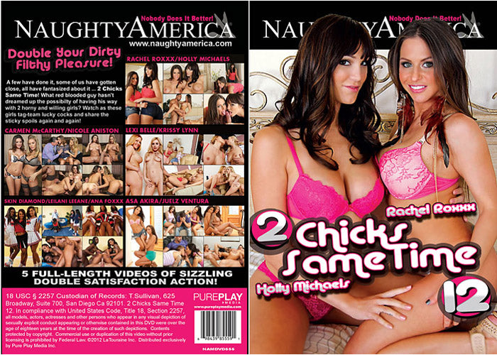 2 Chicks Same Time #12 - Naughty America Sealed DVD