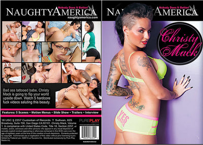Christy Mack, Naughty America - Reality Sealed DVD