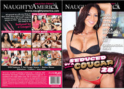 Seduced By A Cougar 28, Naughty America - Reality Sealed DVD