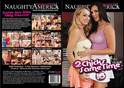 2 Chicks Same Time 16 Naughty Americ Sealed DVD