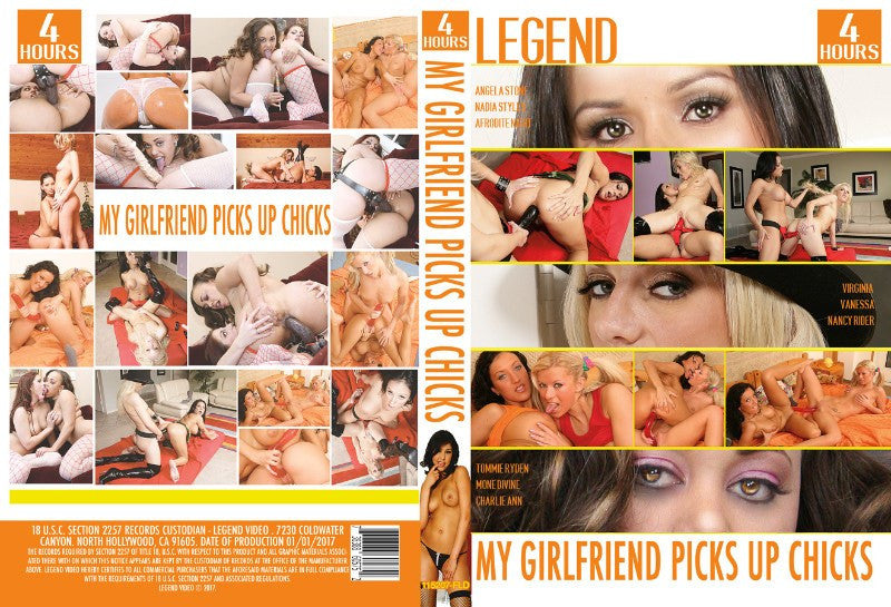My Girlfriend Picks Up Chicks - 4 Hour Legend Adult XXX 2016 DVD In Sleeve