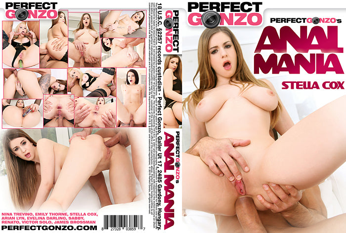 Anal Mania #1 - Perfect Gonzo Sealed DVD