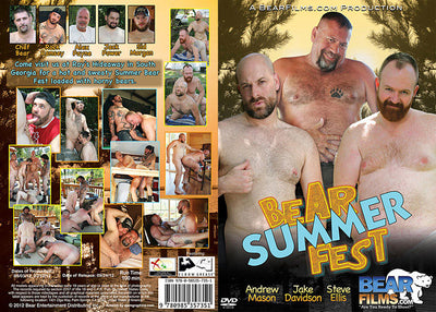 Bear Summer Fest #1 - Bearfilms Gay Sealed DVD